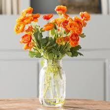 Silk Flower Arrangements For Office - artificial flowers u0026 plants you u0027ll love wayfair