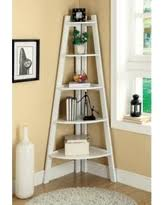 Antique White Bookcases Big Deal On Le Bain 5 Tier Antique White Shelf