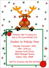 christmas themed birthday party invitations rainforest islands ferry