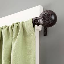 home decorators collection 28 in 48 in l 5 8 in curtain rod