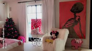 kourtney kardashian bedroom inside penelope disick s christmas bedroom popsugar home photo 1