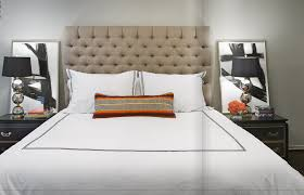 High Headboard Beds Bedroom Style Your Sleep Space With Elegant Upholstered