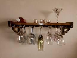 furniture interesting hanging wine glass rack decor wine glass