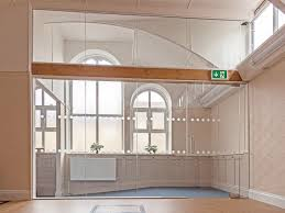 glass partitioning at oughtibridge wesleyan reform chapel