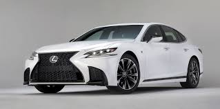 lexus that looks like a lamborghini lexus ls f sport unveiled ahead of new york show