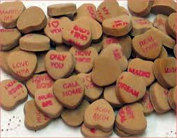 necco sweethearts the wisconsin candy dish necco chocolate sweethearts