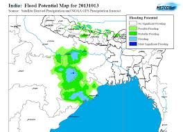 Map Of North East North East India Flood Potential U2013 Floodlist