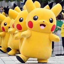 pikachu costume pikachu mascot costume shut up and take my yen