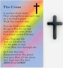 pocket crosses walk to the cross ideas cross with the cross poem a