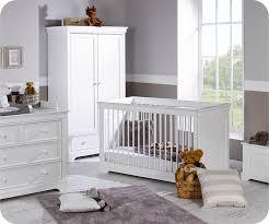 chambre bebe blanche chambre bébé complète mel blanche avec armoire