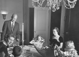 family at thanksgiving dinner old photos presidential thanksgiving kansas city with the