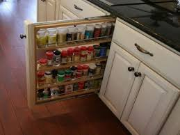 marvelous pull out cabinet organizers with rev a shelf spice rack