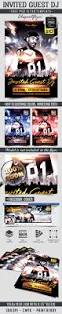 invited guest dj u2013 free flyer psd template facebook cover https