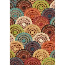 Outdoor Rugs At Walmart by Better Homes And Gardens Bright Dotted Circles Area Rug Or Runner