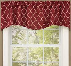Burgundy Curtains With Valance Waverly Curtains Eulanguages Net