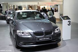 2011 3 series bmw iaa 2011 2012 bmw 3 series exclusive edition