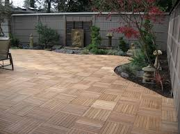 Tile Tech Pavers Cost by Kontiki Interlocking Wood Deck Tiles Real Wood Xl Series 9 Slat
