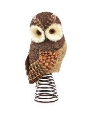 home accents woodland wonder owl tree topper belk