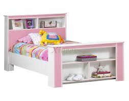 girls white beds bookcase headboard u0026 footboard bed frames life line tango beds