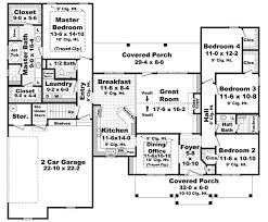 cool floor plans colonial house plan chp 39162 at coolhouseplans