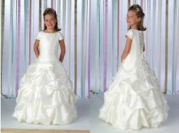 childrens wedding dresses childrens dresses gown gathered skirt