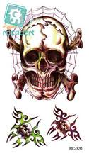 buy skull head tattoos and get free shipping on aliexpress com