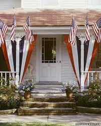 American Flag House Creative Ways To Display The American Flag Martha Stewart