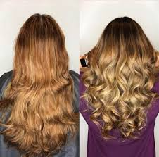 real hair extensions hair extensions miami by best salon great lengths salon