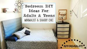 bedroom makeover diy ideas for adults dorm rooms teens bedroom makeover diy ideas for adults dorm rooms teens minimalist shabby chic youtube