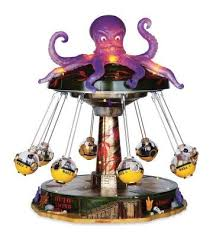 Spooky Village Halloween Decorations by Michaels Halloween Village Lemax Spooky Town Octo Swing Octopus