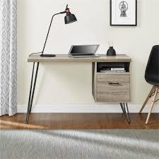 Oak Desk Type South Shore Annexe Gray Oak Desk 9060070 The Home Depot
