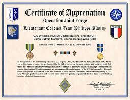 appreciation certificates templates free download certificate of