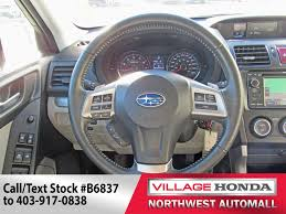 subaru forester steering wheel 2015 subaru forester 2 5i limited awd 24 900 calgary village
