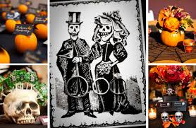 Halloween Wedding Favors The Spookiest Halloween Weddings We U0027ve Ever Seen Bridalguide