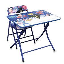 table et chaise pour b b table et chaise héros bleu pour les enfants