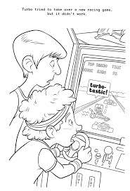wreck ralph coloring pages coloring pages kids