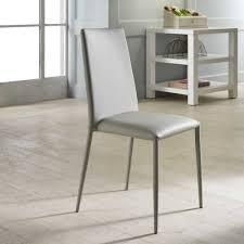 Esszimmerstuhl Kunstleder Grau Esszimmerstühle Und Andere Stühle Von Basilicana Online Kaufen