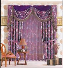 Large Pattern Curtains by Purple Curtains Royal Purple Curtains For Living Room Curtains