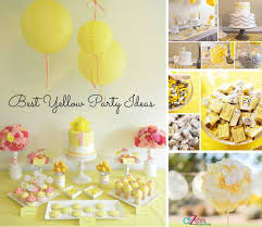 yellow baby shower ideas photo yellow baby shower a image