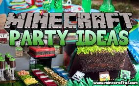 minecraft party the best minecraft party ideas for the ultimate minecraft party