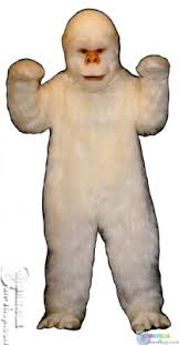 abominable snowman costume abominable snowman mascot costume animal mascots