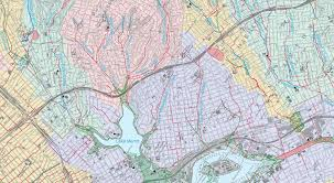 San Francisco Topographic Map by San Francisco U2013 Hidden Hydrology