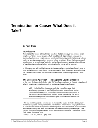 Notice Required To Terminate Employment by Stock Options Termination Without Cause Right To Terminate