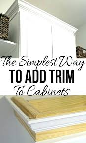 kitchen cabinet trim moulding kitchen cabinet trim ideas findkeep me