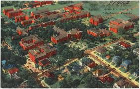 Fsu Campus Map Aerial View Florida State University Tallahassee Florida
