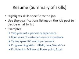 Programming Skills Resume Example Of Resume For Teenager Examples Of Teen Resumes Resume