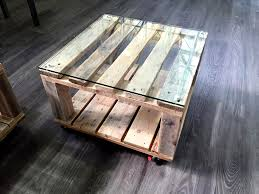 pallet side table and mini coffee table set 101 pallets