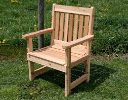 patio chair cedar garden patio chair