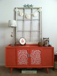 Repurposed Stereo Cabinet Coral Painted Stereo Cabinet Makeover Great Beach Cottage Style