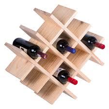 9 bottle wine rack household and decor house of york pine wine